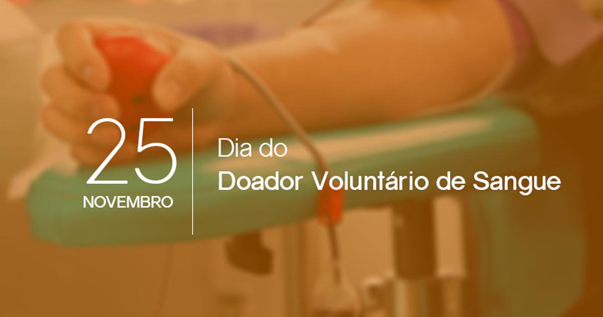 Dia do Doador Voluntário de Sangue